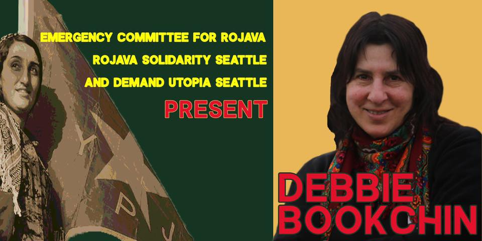 Debbie Bookchin speaking tour event cover photo